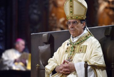 L'Archevêque de Paris remercie SM le Roi pour la contribution financière décidée pour la reconstruction de la cathédrale Notre-Dame de Paris