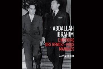 """Livre : """"Abdallah Ibrahim, l'histoire des rendez-vous manqués"""" de Zakya Daoud"""
