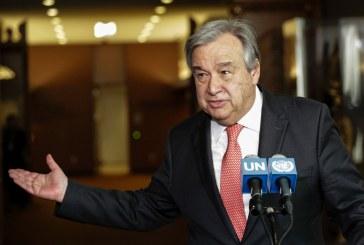"""Antonio Guterres à Tripoli pour """"soutenir le processus politique"""""""