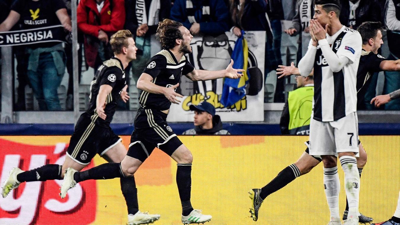 Ligue des Champions : Ajax s'offre la Juventus et passe aux demi-finales