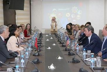 Boucetta s'entretient avec une délégation d'un think tank américain