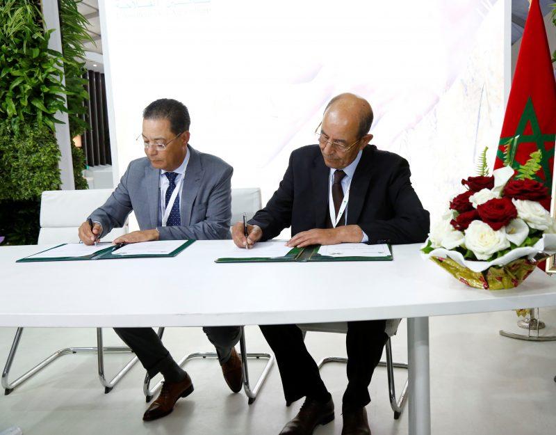 SIAM 2019 : Signature d'une convention d'assurances entre MAMDA et A.M.M.S