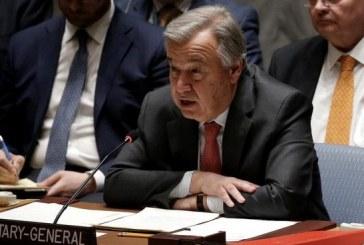 Libye : Guterres se dit préoccupé par le risque de confrontation