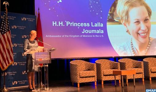 Lalla Joumala Alaoui: le Maroc est une porte d'entrée pour investir en Afrique