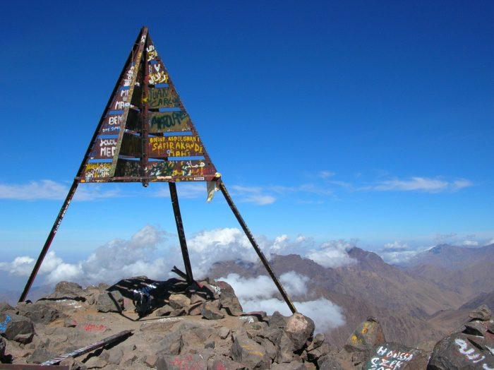 Le mont Toubkal