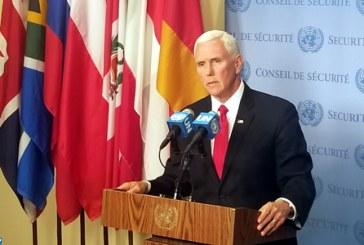 Mike Pence appelle les Nations-Unies à reconnaître Juan Guaido comme représentant légitime du Venezuela