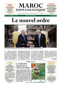 Le numéro 34 de Maroc diplomatique est dans les kiosques