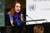 """ONU: La Présidente de l'AG """"soutient pleinement"""" l'engagement du Pape François et de SM le Roi pour la paix"""