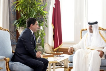Message de SM le Roi à l'Emir de l'Etat du Qatar