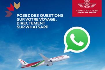 Royal Air Maroc lance un chatbot Whatsapp pour mieux servir ses clients