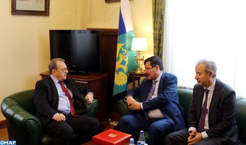 """Mikhail Bogdanov: """"La Russie et le Maroc avancent ensemble d'un pas sûr"""""""