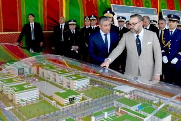 SM le Roi lance à Rabat les travaux de construction du nouveau siège de la DGSN