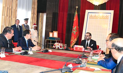 SM le Roi préside une séance de travail consacrée à la problématique de l'Eau