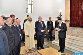 SM le Roi donne ses instructions pour l'organisation des élections des Instances représentatives des communautés israélites marocaines