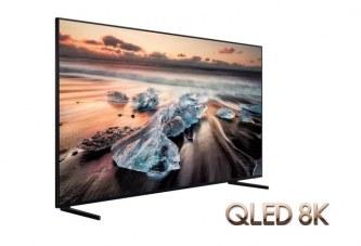Les télévisions Samsung QLED 8K et 4K seront disponibles à partir de Mai