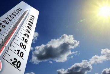 Températures minimales et maximales prévues pour la journée du mardi 02 avril