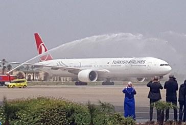 """Inauguration de la ligne directe Istanbul-Marrakech de la """"Turkish Airlines"""""""