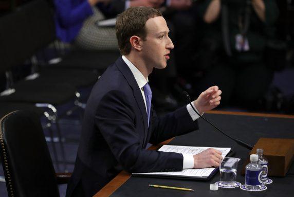 Mark Zuckerberg au congres