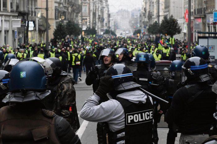 France : 23ème samedi de mobilisation des « gilets jaunes » sous haute sécurité