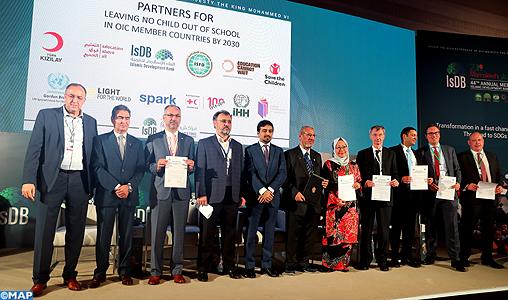 Le FSID et ses partenaires plaident pour une coalition mondiale pour l'éducation