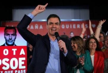 Législatives espagnoles : large victoire du PSOE, débâcle du PP et percée de Vox