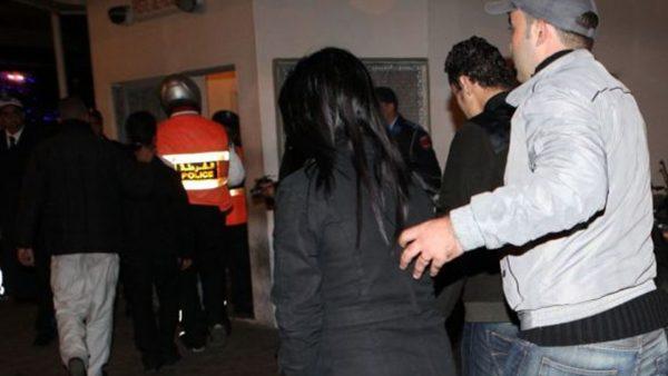 arrestation femme