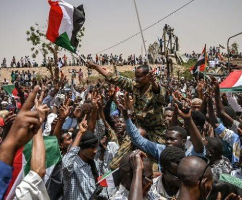 manifestants soudanais