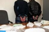 Interpellation de deux individus présumés impliqués dans une affaire de trafic de stupéfiants