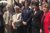 Assia Alaoui, ambassadeur itinérant de SM le Roi, a été reçue aujourd'hui par Emmanuel Macron
