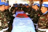 ONU : un Casque bleu marocain mort en Centrafrique reçoit à titre posthume une médaille
