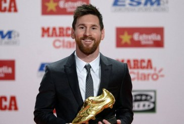 Football : Messi remporte son sixième Soulier d'or