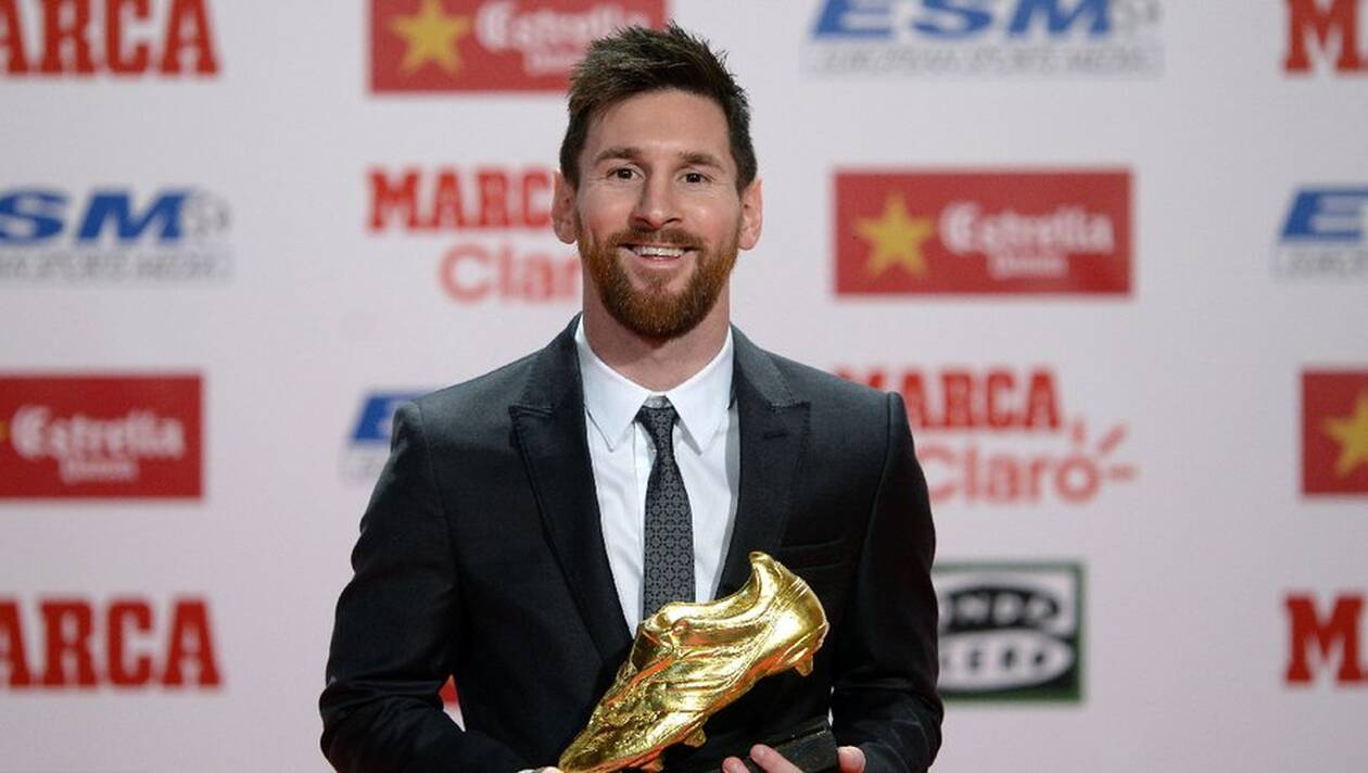 Football : Messi remporte son sixième Soulier d'or