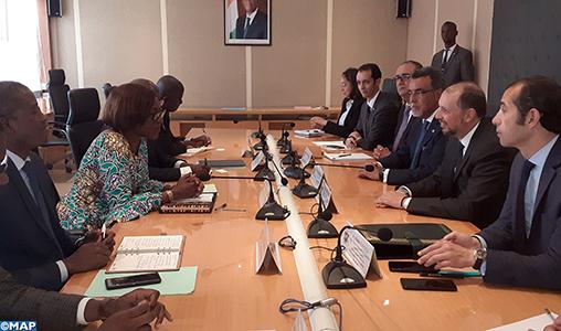 Série d'entretiens de Mohcine Jazouli à Abidjan