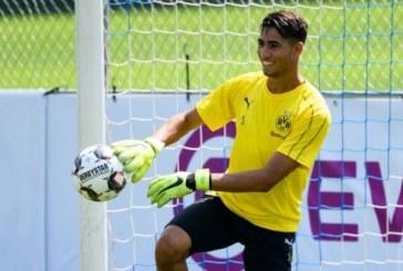 Achraf Hakimi reprend les entraînements