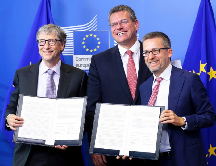 L'UE et Bill Gates lancent un nouveau fonds d'investissement pour l'énergie propre