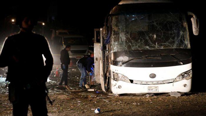 Egypte: 17 blessés dans une explosion visant des touristes
