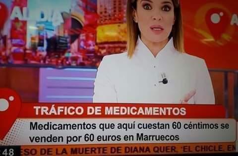 chaîne espagnole drogue