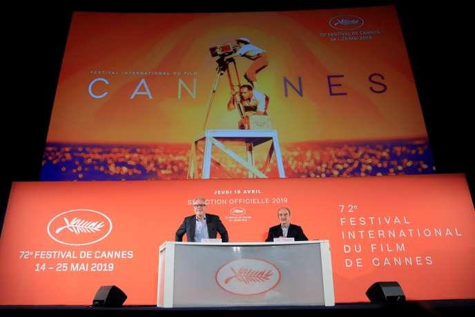 Cérémonie d'ouverture de la 72éme édition du Festival de Cannes