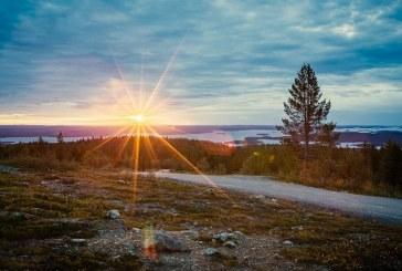 Finlande: Le soleil ne se couchera pas d'ici fin juillet à Nuorgam