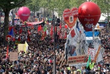 1er Mai : 164.500 manifestants en France, dénombre le ministère de l'Intérieur, 310.000 selon la CGT