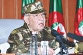 """Algérie: Gaïd Salah appelle les Algériens à """"s'unir"""" avec l'armée"""