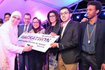 """Quatre projets innovants primés au concours du Hackathon """"Smart Campus"""" Madinat Al Irfane"""