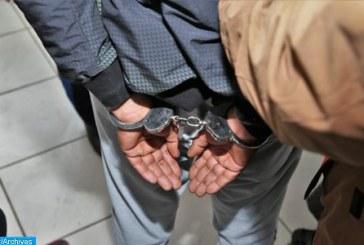 Arrestation de personnes présumées impliquées dans des affaires de vol d'un ISTA