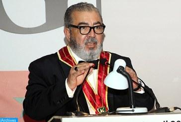 Khalil Hachimi Idrissi élu président de la Confrérie des Compagnons de Gutenberg-Maroc