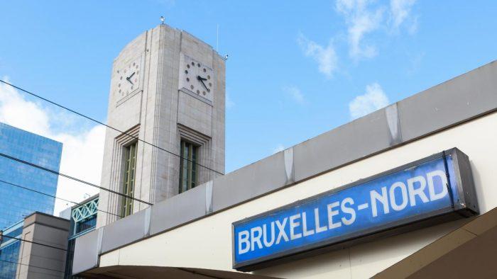 La gare de Bruxelles