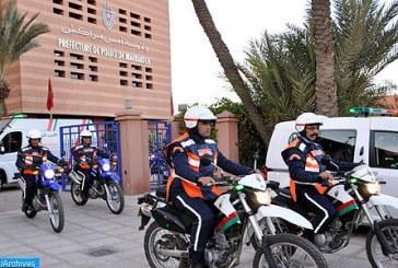 La police de Marrakech interpelle 13 personnes recherchées au niveau international