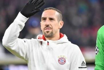 Le Bayern officialise le départ de Ribéry en fin de saison