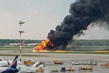 Russie: au moins 13 morts après l'atterrissage d'un avion en feu à l'aéroport de Moscou