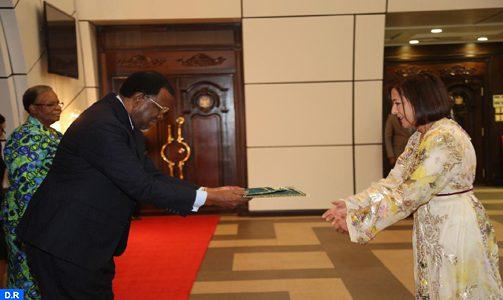 Le Président de la Namibie reçoit le nouvel ambassadeur du Maroc