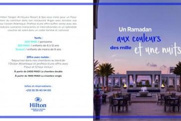 Hilton Tangier Al Houara Resort & Spa célèbre le Ramadan avec des offres inédites